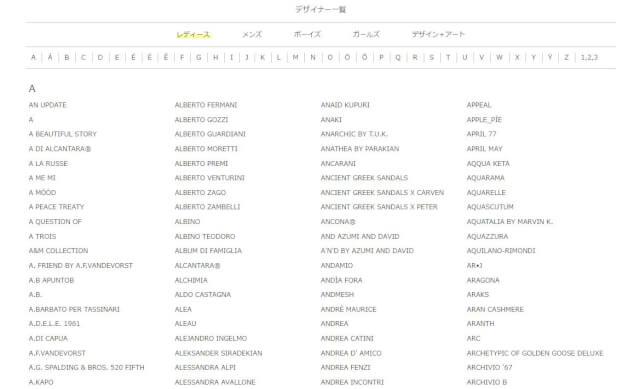 designerlist - 海外通販YOOX(ユークス/ヨークス)セール情報クーポン&コード付買い方、購入方法・個人輸入yoox買い物ガイド2018