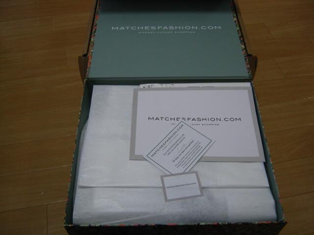matchesfashion Arrived 4 - 海外通販matchesfashion(マッチズファッション)から商品到着!