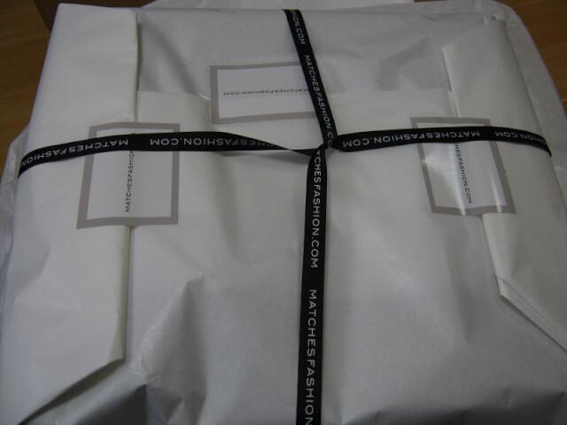 matchesfashion Arrived 6 - 海外通販matchesfashion(マッチズファッション)から商品到着!