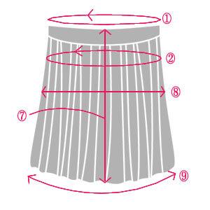 skirt - 【2020年版】海外ブランドのサイズ変換表ガイド(US, UK, EU対応)靴・アパレルサイズ換算表、国別のインチ、フィード、ヤード表記も。日本サイズとアメリカ、イギリス、ヨーロッパサイズの違いは?ベビーキッズやワイズ表もあり!