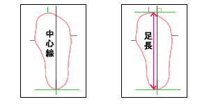 zukai05 - 海外ブランド靴のワイズサイズ変換表ガイド 靴幅 海外サイズから日本サイズに変換