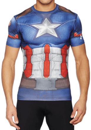 ua07 - アマゾンアメリカでアンダーアーマー(Under Armour)スーパーマンのコンプレッションシャツを個人輸入 日本未発売商品をAmazon.com(アマゾンUSA)で