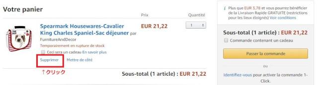 FRカート戻る - Amazon.fr(アマゾンフランス)の購入方法紹介!割引クーポン&キャンペーンコード&セールの買い方、登録方法・個人輸入買い物Amazon.fr(アマゾンフランス)購入完全ガイド2020