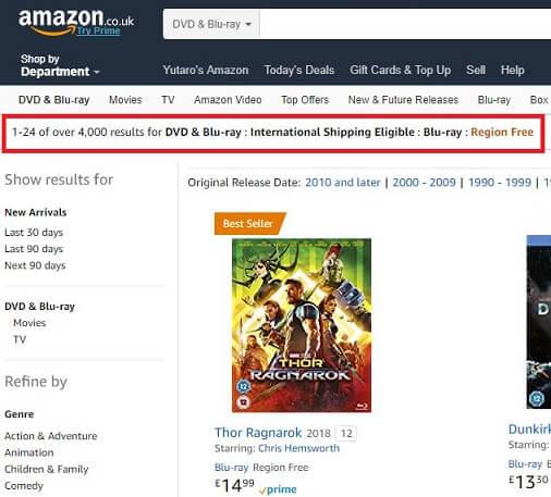 ukリージョンフリー3 - Amazon.co.uk(アマゾンイギリス)の購入方法紹介!割引クーポン&セールの買い方、登録方法・個人輸入買い物 イギリスアマゾン購入完全ガイド2020