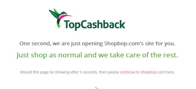 topcashbackpurchase04 - 海外ポイントサイト TopCashback(トップキャッシュバック)の登録から使い方まで