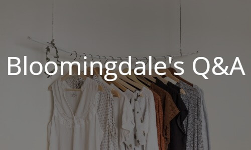 海外通販Bloomingdale's(ブルーミングデールズ)の買い方 個人輸入Q&Aトラブル解決やお得な情報満載