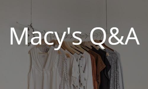 海外通販Macy's(メイシーズ)の買い方 個人輸入Q&Aトラブル解決やお得な情報満載