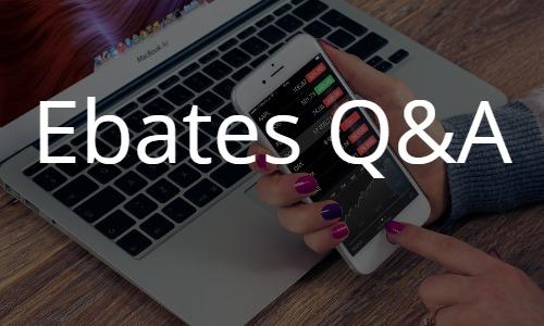海外通販をお得に買い物するEbates(イーベイツ)のQ&Aトラブル解決やお得な情報満載