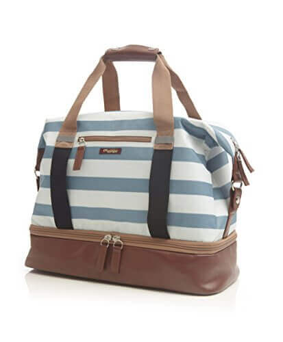 Po Campo Midway Weekender Sky Stripes One Size - 【小旅行に最適】女性のための1~2泊用 旅行バッグおすすめ人気ランキング11選!