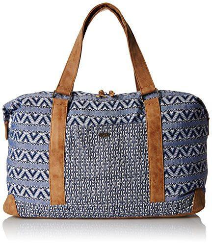 Roxy Womens Wake the World Shoulder Handbag True Navy - 【小旅行に最適】女性のための1~2泊用 旅行バッグおすすめ人気ランキング11選!