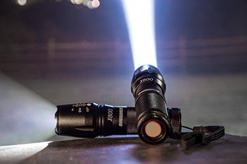 1. ShadowHawk X800 High Tactical Flashlight - 【持ち運びに便利】ハンディライトおすすめ人気ランキング9選!