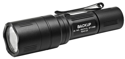 2. SureFire EB1 Backup Click Switch Dual Output LED Flashlight - 【持ち運びに便利】ハンディライトおすすめ人気ランキング9選!