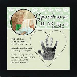 Baby Child Keepsake Handprint Frame - 【インテリアグッズ】2018年おばあちゃんのベストギフトおすすめ人気ランキング10選!
