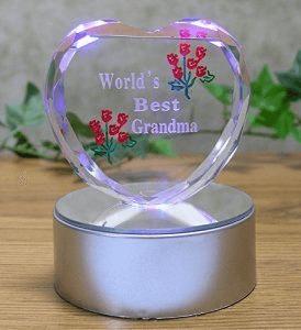Light up LED Heart for Grandma - 【インテリアグッズ】2018年おばあちゃんのベストギフトおすすめ人気ランキング10選!