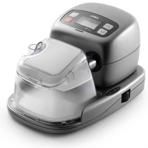 apex medical xt auto travel cpap machine humidifier 490x490 1 - 【質の良い睡眠】朝スッキリ起きられますか?睡眠時無呼吸症候群のための最新治療器具CPAPおすすめ人気ランキング10選!