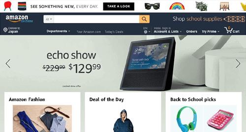 shopimg amazon - Amazon.com(アマゾンアメリカ)日本一わかりやすく購入方法解説!登録や送料、返品交換 アメリカアマゾンの買い方使い方2018年最新版