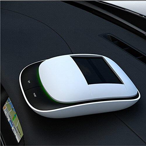 Beauty World Solar Power Car Air Purifier - 【除菌消臭】車載用空気清浄機おすすめ人気ランキング9選!