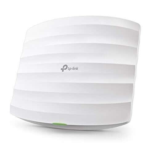 TP Link EAP225 V3 Wireless MU MIMO Gigabit Ceiling Mount Access Point Supports 802.3af PoE and Passive PoEInjector Included AC1350 490x490 - 【高速カンタン】インターネットの悩み解消!Wifi無線LANおすすめ人気ランキング10選!