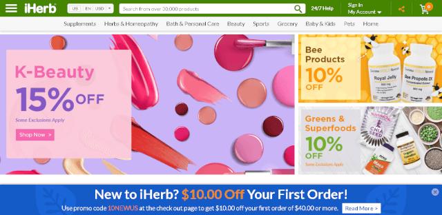shopimg iherb - 海外通販・個人輸入おすすめ海外通販30選!日本語でもOK