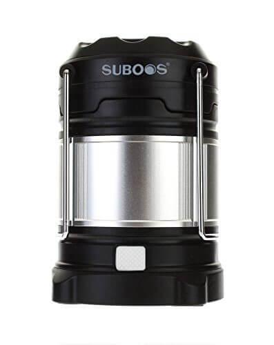 1. SUBOOS - 【電池長持ち】充電式LEDランタンおすすめ人気ランキング10選!