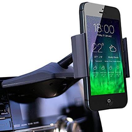 512x4RXhzBL. SX425  - 【通勤ドライブをもっと快適に!】ベストスマートフォン用車載ホルダー9選!