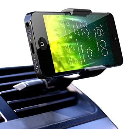 51XKNnbX5yL. SX425  - 【通勤ドライブをもっと快適に!】ベストスマートフォン用車載ホルダー9選!